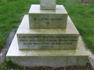 g.w. calverley grave