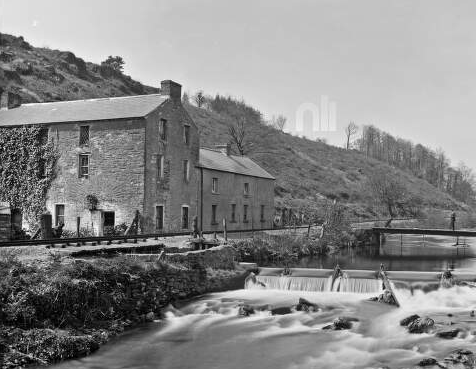 Burnt Mills, The Lawrence Photograph Collection National Library Ireland